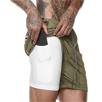 Men's Breathable Running Shorts
