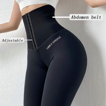 Yoga Pants Stretchy Sport Leggings High Waist